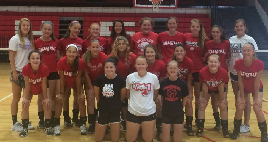2016 Tom Houser Star Volleyball Site Camp At Franklin County High